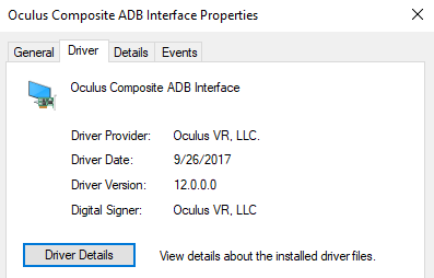 Oculus Go ADB driver 2 0 – A PLAY EXPERIENCE MAKER'S WORK LOG ©2001